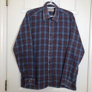 Sears The Men's Store Vintage Dress Shirt Sz Large